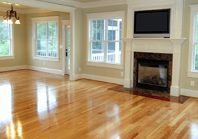 Strip hardwood flooring